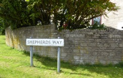 Many street names reflect the importance of sheep to the towns and villages in the Cotswolds