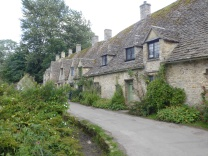 Arlington Row, Bibury where the cloth workers lived and worked