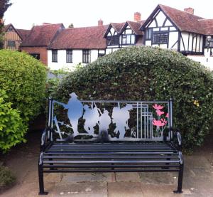 WW1 memorial garden seat