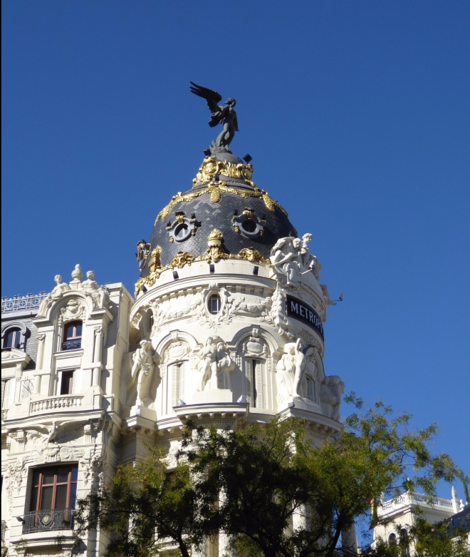Blue Skies over Madrid