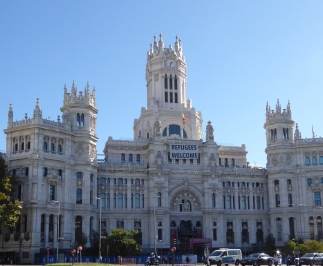 Post Office in madrid
