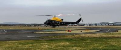 Landing at Staverton Airport