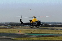 Leaving Staverton Airport
