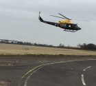 taking off from Staverton