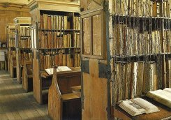 Chained Library at Hereford Cathedral