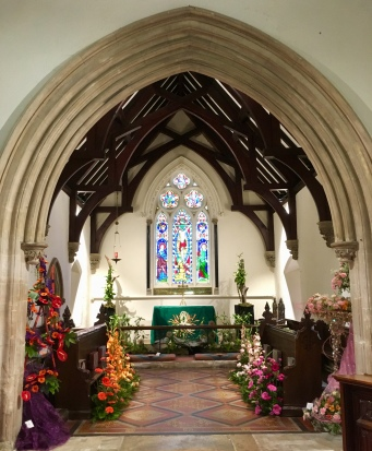 The Chancel with 3 types of dance