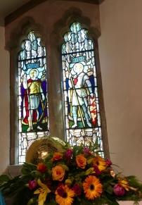 WW1 memorial window
