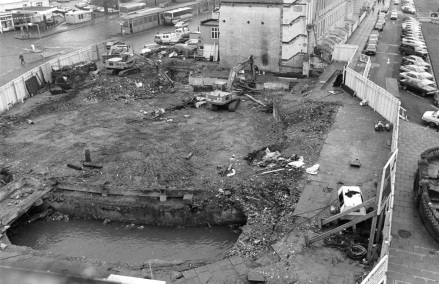 river-chelt-after-cinema-knocked-down-to-make-way-for-royscot-house-photo-from-glos-echo-in-1986